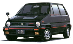 [JAPON] Honda City TURBO I & TURBO II Turbo1